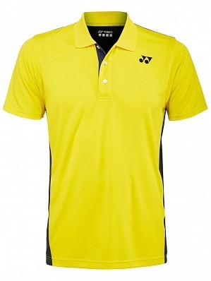 Yonex Stanislas Wawrinka Men's French Open Tennis Polo Shirt, Yellow