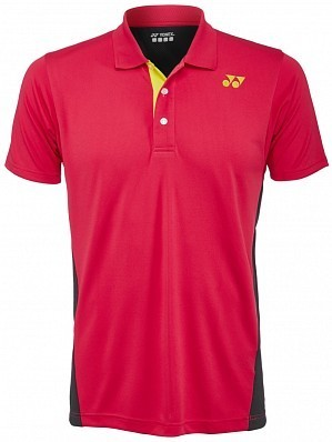 Yonex Stanislas Wawrinka Men's French Open Tennis Polo Shirt, Red