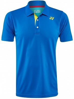 Yonex Stanislas Wawrinka Men's French Open Tennis Polo Shirt, Blue