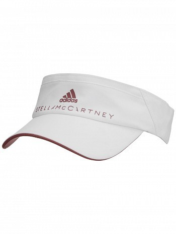 Adidas Stella McCartney WTA Tour Pro Player Tennis Visor White