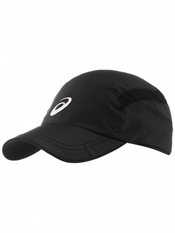 bc2a42eb547 Asics ATP   WTA Master Tour Pro Player Essential Logo Tennis Cap Hat Black
