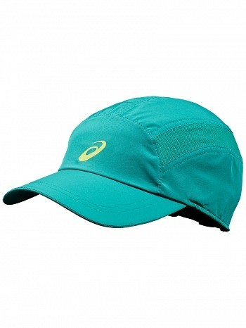 Asics ATP & WTA Master Tour Pro Player Essential Logo Tennis Cap Hat Green