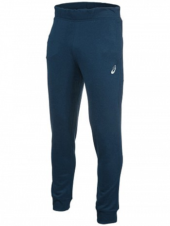 Asics ATP Master Tour Pro Player Men's Essential Warm Up Tennis Tracksuit Pant, Navy
