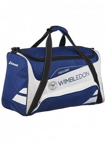 Babolat Wimbledon Open Tennis Racket Sport Bag Blue / White