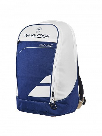 Babolat Wimbledon Open Club Tennis Racket Backpack Bag Blue