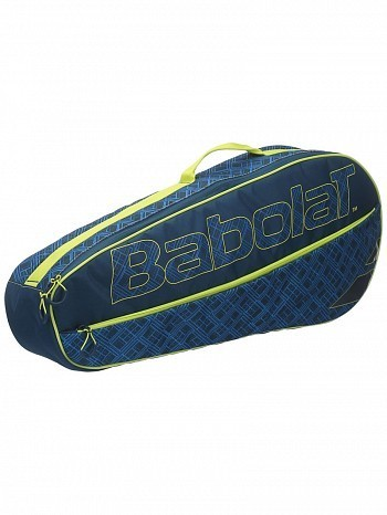 Babolat Classic Essential Club 3 Pack Tennis Racket Bag Blue / Yellow