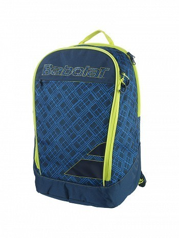 Babolat Classic Essential Club Tennis Racket Backpack Bag Blue / Yellow