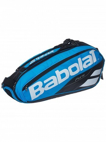 Babolat Pro Tour Pure Drive 6 Pack Tennis Racket Bag Blue