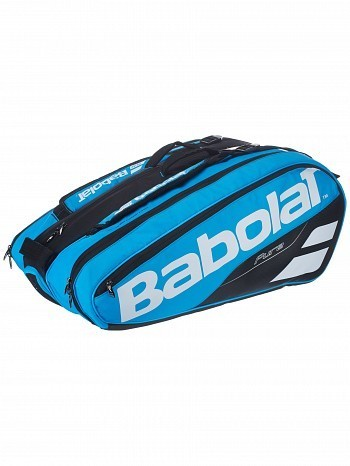 Babolat Pro Tour Pure Drive 12 Pack Tennis Racket Bag Blue