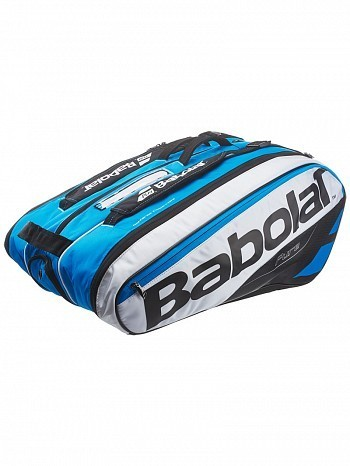 Babolat Pro Tour Pure Drive 12 Pack Tennis Racket Bag White