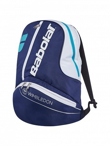 Babolat Pro Tour Pure Wimbledon Tennis Racket Backpack Bag Blue
