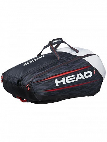 Head Novak Djokovic Monstercombi 12 Pack Tennis Rackets Bag