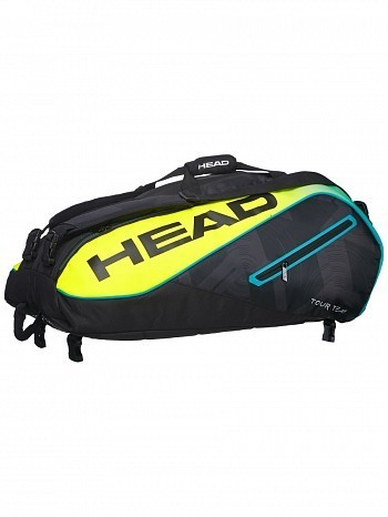Head ATP Master Tour Pro Player Extreme Monstercombi 12 Pack Tennis Rackets Bag