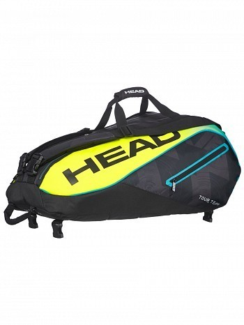Head ATP Master Tour Pro Player Extreme Monstercombi 9 Pack Tennis Rackets Bag
