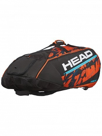 Head ATP Master Tour Pro Player Radical Monstercombi 12 Pack Tennis Rackets Bag