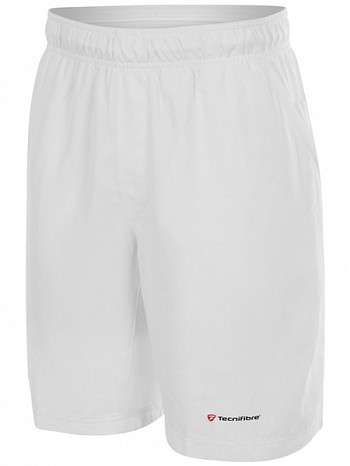 Tecnifibre ATP Pro Player Logo Men's Club X Cool Tennis Shorts, White
