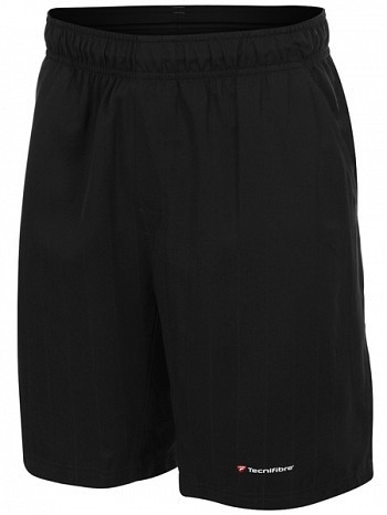 Tecnifibre ATP Pro Player Logo Men's Club X Cool Tennis Shorts, Black