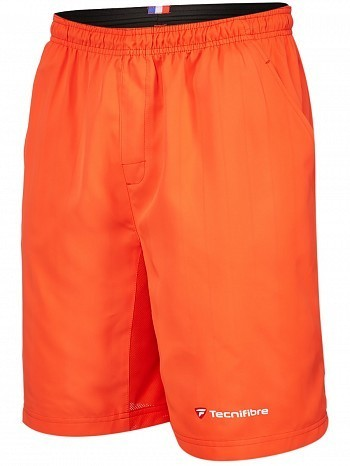 Tecnifibre ATP Pro Player Logo Men's Club X Cool Tennis Shorts, Orange