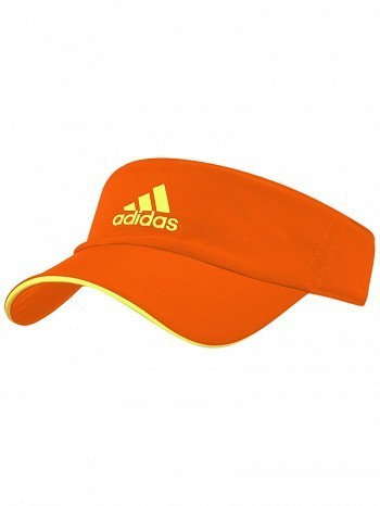 Adidas WTA Pro Tour Player Basic Climalite Tennis Visor Orange