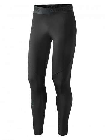 Adidas Pro Player ATP Tour Men's Alphaskin Tight, Black