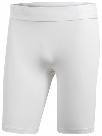 Adidas Pro Player ATP Tour Men's Alphaskin Compression Short, White