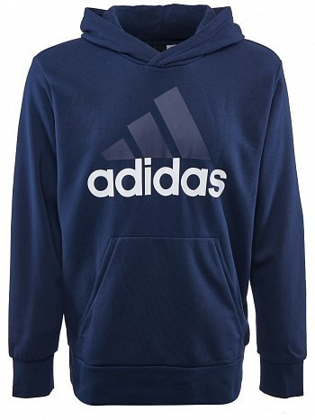 Adidas Pro Player ATP Tour Men's Training Essential Logo Hoodie Sweater, Navy