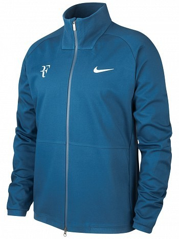 Nike Roger Federer ATP Master Tour Men's Court Premier RF Tennis Jacket, Blue