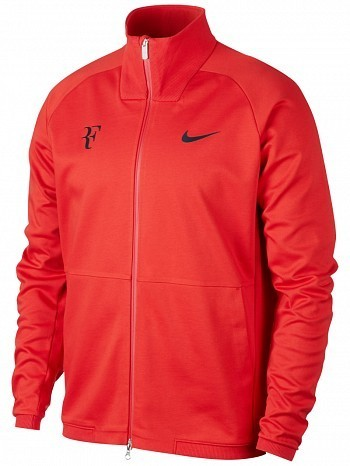 Nike Roger Federer ATP Master Tour Men's Court Premier RF Tennis Jacket, Red