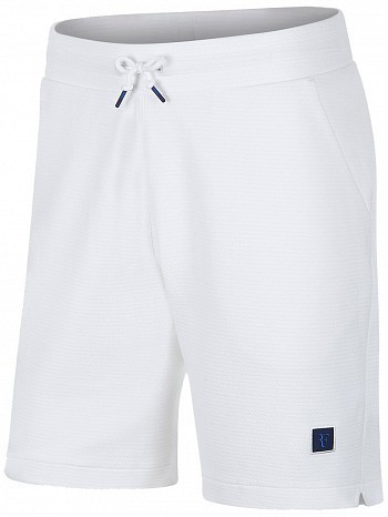 Nike Roger Federer ATP Master Tour Men's Court RF Essential Tennis Shorts White