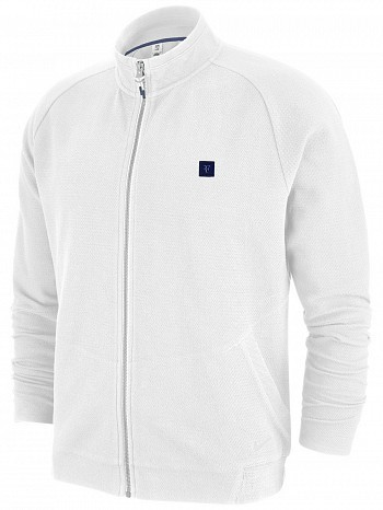Nike Roger Federer ATP Master Tour Men's Court RF Essential Tennis Jacket White