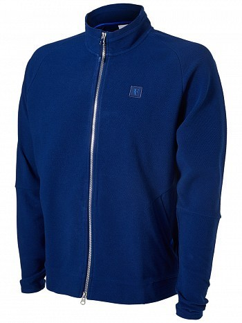 Nike Roger Federer ATP Master Tour Men's Court RF Essential Tennis Jacket Blue