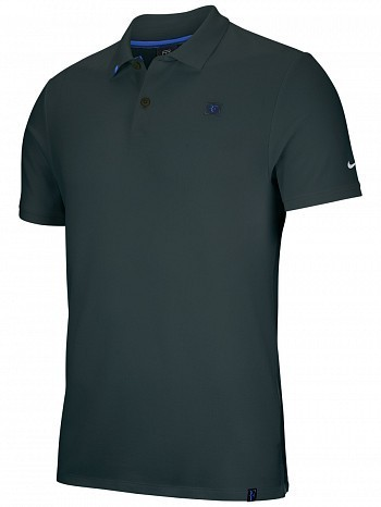 Nike Roger Federer ATP Master Tour Men's Court RF Essential Tennis Polo Shirt Green