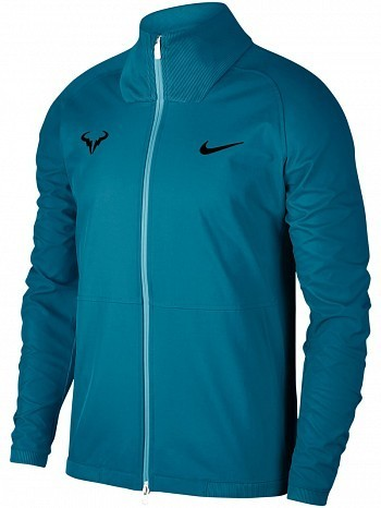 Nike Rafael Nadal 2018 French Open Court RAFA Premier Tennis Jacket Blue