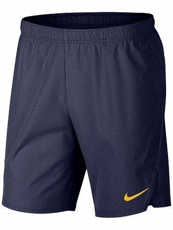 "Nike ATP Pro Player Men's Court Flex Ace 9"" Tennis Shorts 23cm, Blue"