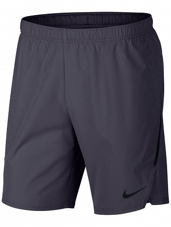 "Nike ATP Pro Player Men's Court Flex Ace 9"" Tennis Shorts 23cm, Grey"