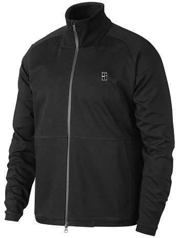 Nike ATP Pro Player Men's Off Court Essential Woven Warm Up Tennis Jacket Black