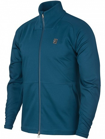 Nike ATP Pro Player Men's Off Court Essential Woven Warm Up Tennis Jacket Blue